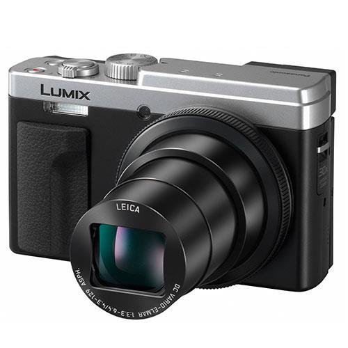 Lumix DC-TZ95 Camera in Silver Product Image (Secondary Image 4)