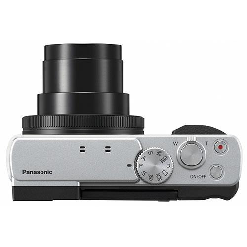 Lumix DC-TZ95 Camera in Silver Product Image (Secondary Image 5)