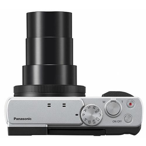 Lumix DC-TZ95 Camera in Silver Product Image (Secondary Image 6)