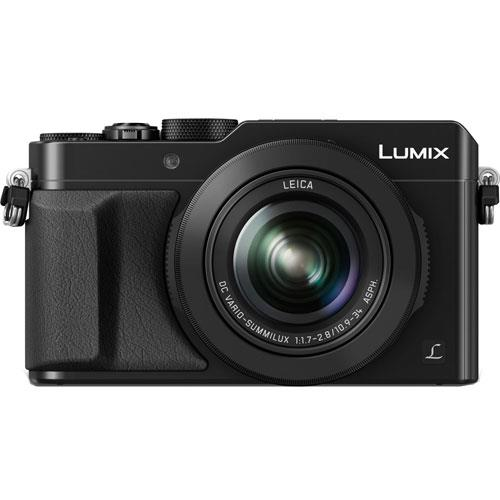 Lumix DMC-LX100 Digital Camera in Black Product Image (Primary)