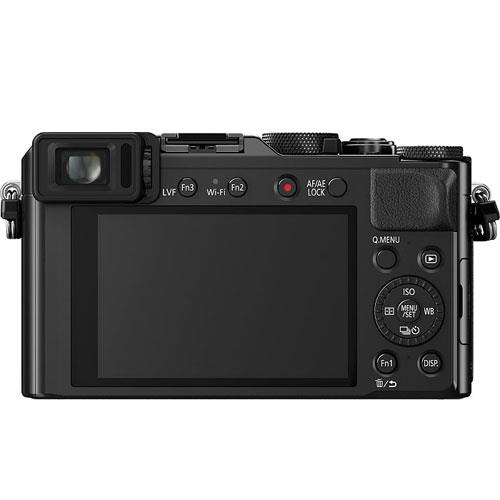 Lumix DMC-LX100 Digital Camera in Black Product Image (Secondary Image 1)