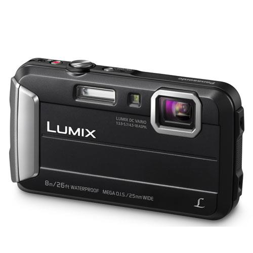 Lumix DMC-FT30 Camera in Black Product Image (Primary)