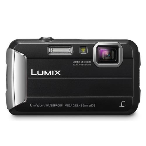 Lumix DMC-FT30 Camera in Black Product Image (Secondary Image 2)