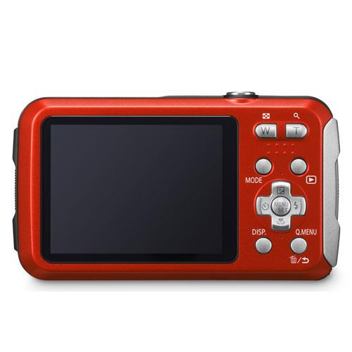 Lumix DMC-FT30 Camera in Red Product Image (Secondary Image 1)