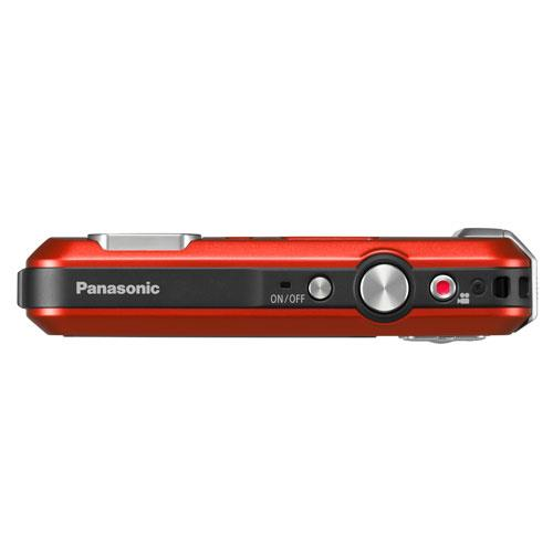 Lumix DMC-FT30 Camera in Red Product Image (Secondary Image 3)