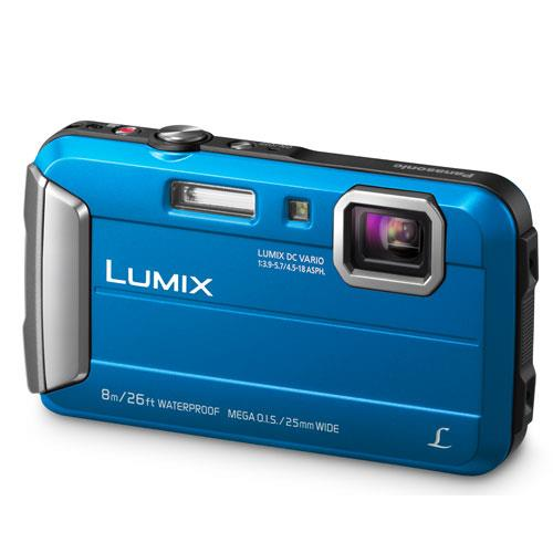 Lumix DMC-FT30 Camera in Blue Product Image (Primary)