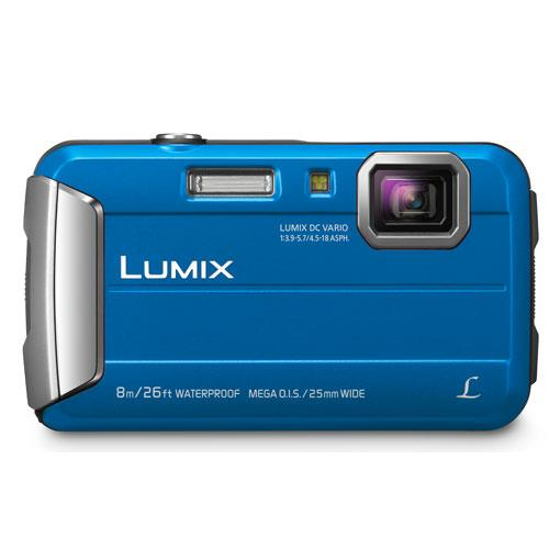 Lumix DMC-FT30 Camera in Blue Product Image (Secondary Image 1)