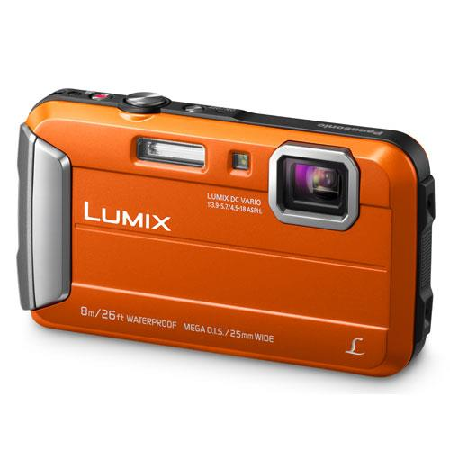 Lumix DMC-FT30 Camera in Orange Product Image (Primary)