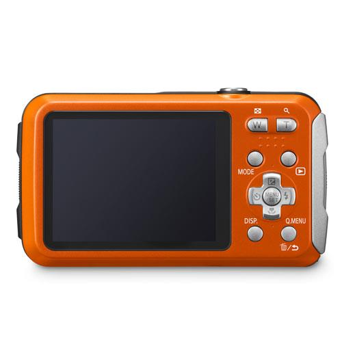 Lumix DMC-FT30 Camera in Orange Product Image (Secondary Image 1)