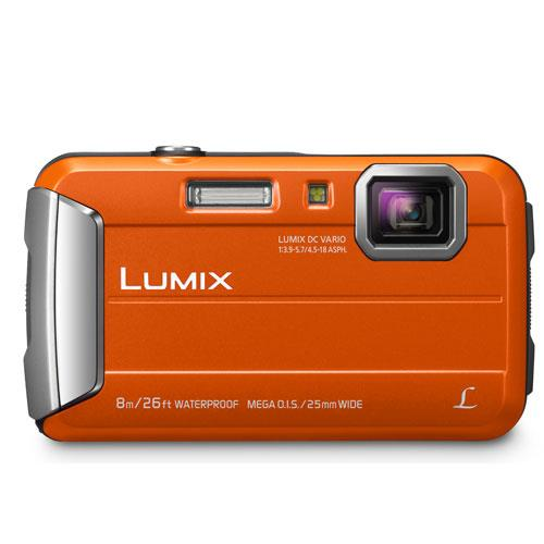 Lumix DMC-FT30 Camera in Orange Product Image (Secondary Image 2)