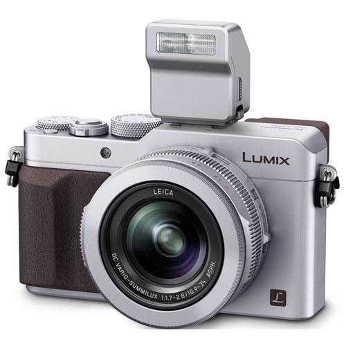 Lumix DMC-LX100 Digital Camera in Silver Product Image (Primary)
