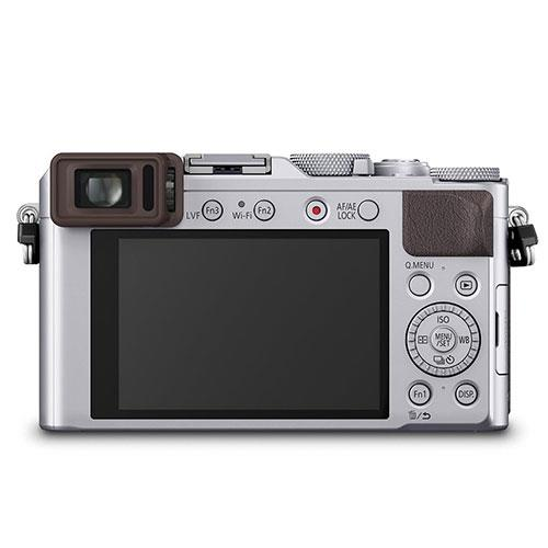 Lumix DMC-LX100 Digital Camera in Silver Product Image (Secondary Image 1)