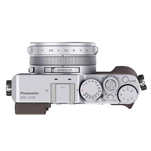 Lumix DMC-LX100 Digital Camera in Silver Product Image (Secondary Image 3)