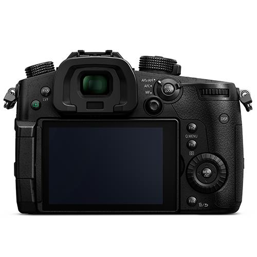Lumix DMC-GH5 Mirrorless Camera Body Product Image (Secondary Image 1)
