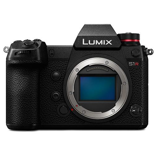 Lumix DMC-S1R Mirrorless Camera Body Product Image (Primary)