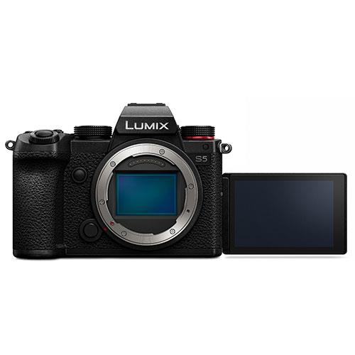 Panasonic Lumix S5 Mirrorless Camera Body  Product Image (Secondary Image 4)