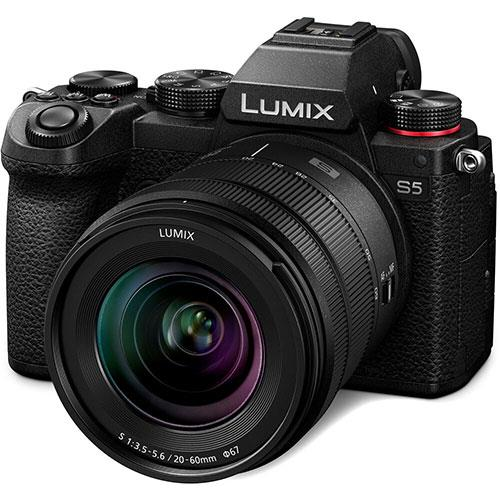 Lumix S5 Mirrorless Camera with 20-60mm F3.5-5.6 Lens Product Image (Secondary Image 1)