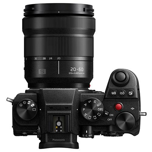 Lumix S5 Mirrorless Camera with 20-60mm F3.5-5.6 Lens Product Image (Secondary Image 5)
