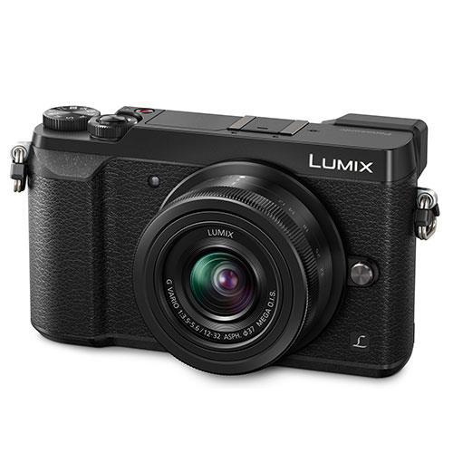 Lumix DMC-GX80 Mirrorless Camera in Black + 12-32mm Lens Product Image (Primary)