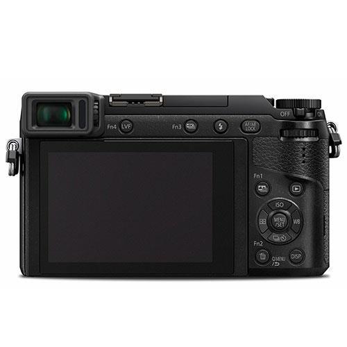 Lumix DMC-GX80 Mirrorless Camera in Black + 12-32mm Lens Product Image (Secondary Image 3)
