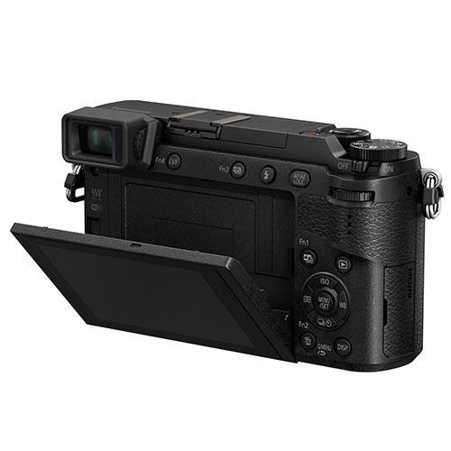 Lumix DMC-GX80 Mirrorless Camera in Black + 12-32mm Lens Product Image (Secondary Image 4)