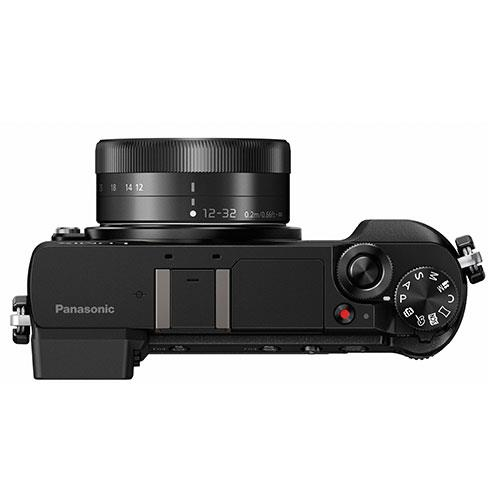 Lumix DMC-GX80 Mirrorless Camera in Black + 12-32mm Lens Product Image (Secondary Image 6)