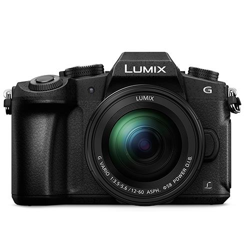 Lumix DMC-G80 Mirrorless Camera in Black + 12-60mm Lens Product Image (Secondary Image 2)