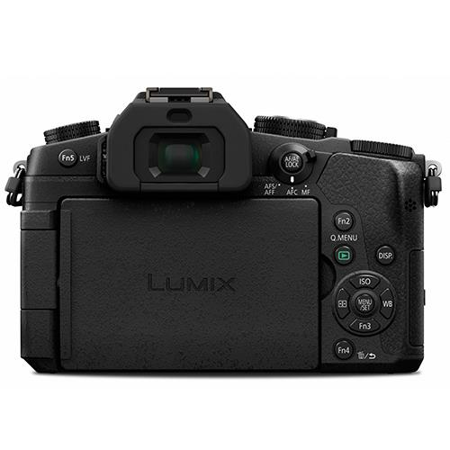 Lumix DMC-G80 Mirrorless Camera in Black + 12-60mm Lens Product Image (Secondary Image 4)