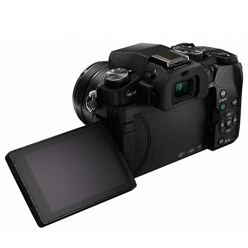 Lumix DMC-G80 Mirrorless Camera in Black + 12-60mm Lens Product Image (Secondary Image 5)