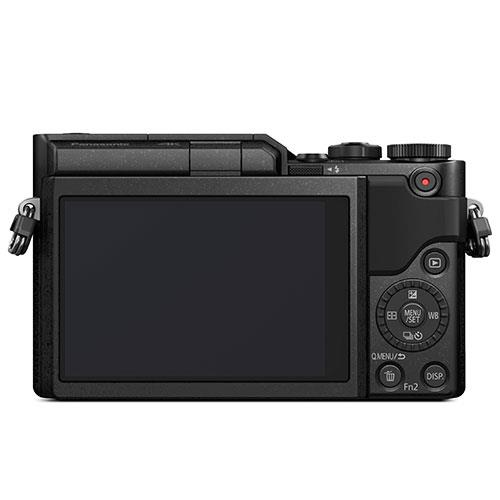 Lumix DC-GX880 Mirrorless Camera in Black with 12-23mm Lens Product Image (Secondary Image 1)