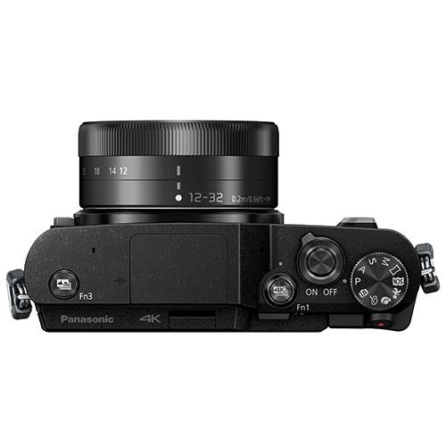 Lumix DC-GX880 Mirrorless Camera in Black with 12-23mm Lens Product Image (Secondary Image 6)