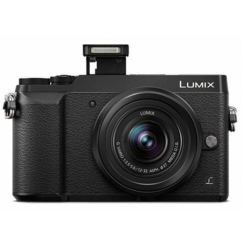 Lumix DMC-GX80 Mirrorless Camera in Black with 12-32mm and 25mm Lenses Product Image (Secondary Image 2)