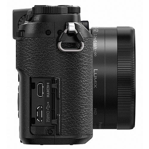 Lumix DMC-GX80 Mirrorless Camera in Black with 12-32mm and 25mm Lenses Product Image (Secondary Image 7)