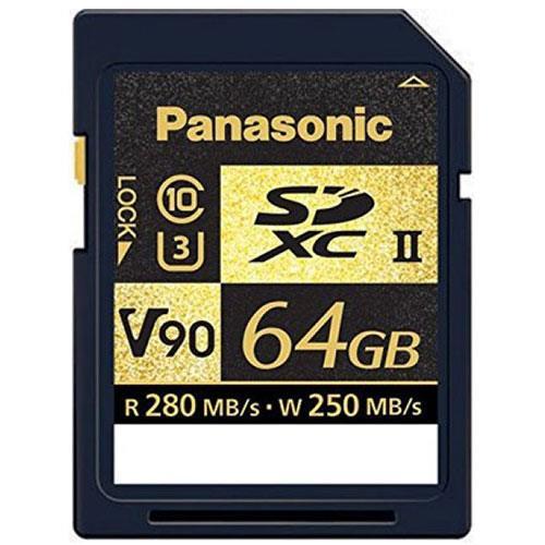 64GB SDXC V90 U3 C10 Memory Card Product Image (Primary)