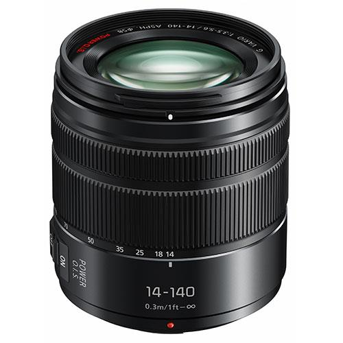 Lumix G Vario 14-140mm f/3.5-5.6 II Lens  Product Image (Primary)