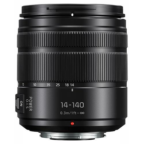 Lumix G Vario 14-140mm f/3.5-5.6 II Lens  Product Image (Secondary Image 1)
