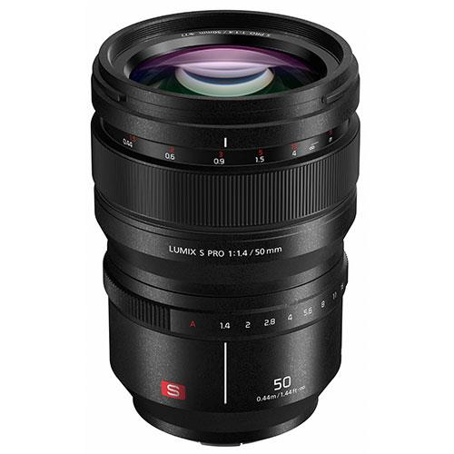 Lumix S PRO 50mm f/1.4 Lens Product Image (Primary)