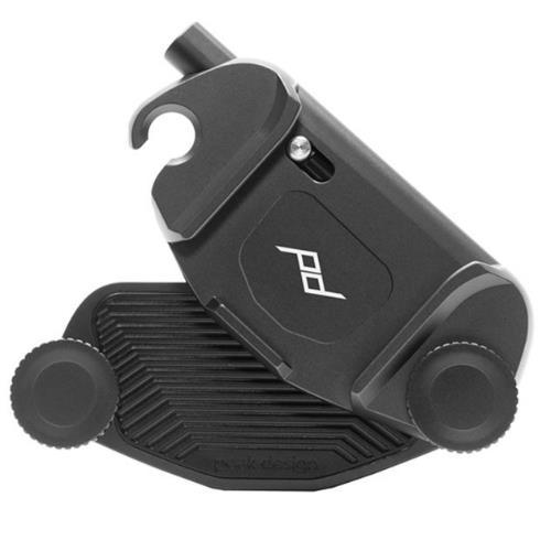 Camera Clip V3 with Plate Black Product Image (Secondary Image 2)