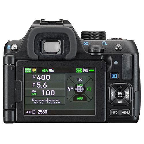 K-70 Digital SLR with 18-50mm WR and 50-200mm WR Lenses Product Image (Secondary Image 1)