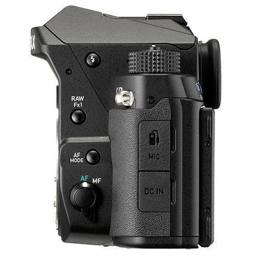 KP Digital SLR in Black with HD DA 18-50mm WR Lens - Ex Display Product Image (Secondary Image 2)