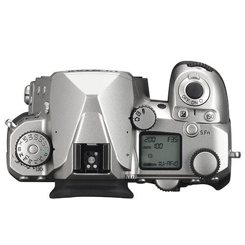 K-3 Mark III Digital SLR Body in Silver Product Image (Secondary Image 2)