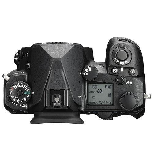 K-3 Mark III Digital SLR Body in Black with Grip and Spare Battery Product Image (Secondary Image 3)