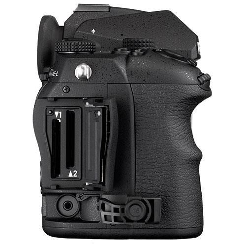 K-3 Mark III Digital SLR Body in Black with Grip and Spare Battery Product Image (Secondary Image 5)