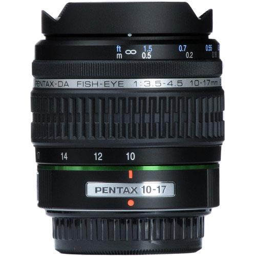 SMC P-DA Fish-Eye 10-17mm F3.5-4.5 Edition (IF) Lens Product Image (Primary)