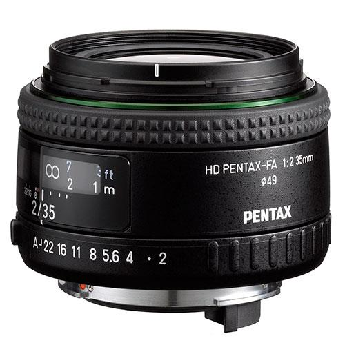 HD FA-35mm f/2 Lens Product Image (Primary)