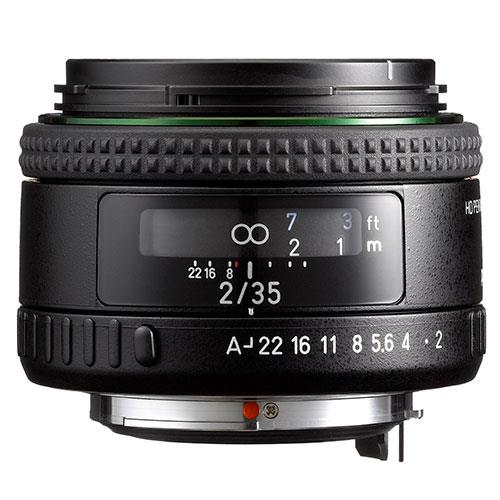 HD FA-35mm f/2 Lens Product Image (Secondary Image 1)