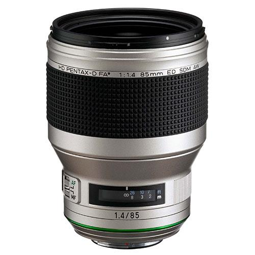 HD FA 85mm F1.4 SDM Silver Edition Lens Product Image (Primary)