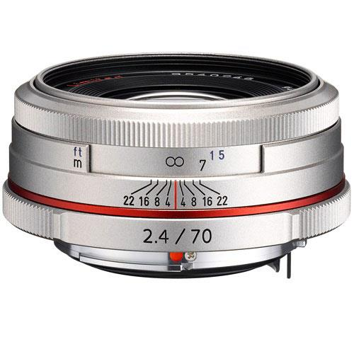 HD DA 70mm F2.4 Silver Lens Product Image (Primary)