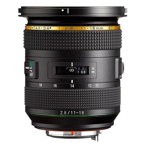 DA 11-18mm f/2.8 ED DC AW Lens Product Image (Secondary Image 1)