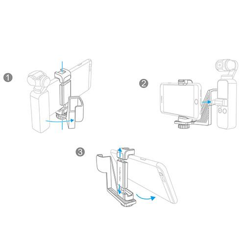 Osmo Pocket Phone Holder Set Product Image (Secondary Image 3)